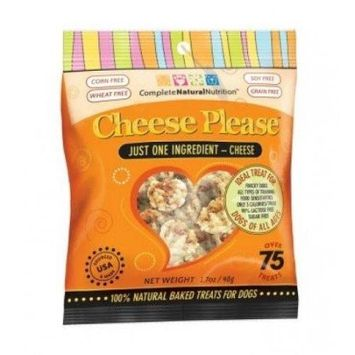 Complete Natural Nutrition Cheese Please Dog Treats