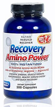 CarboPro Recovery Amino Power 300 Capsules