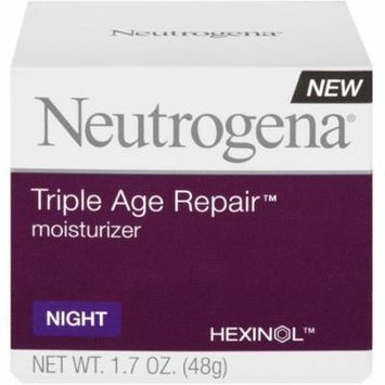 Neutrogena Triple Age Repair Night Moisturizer, 1.7 oz (Pack of 6)