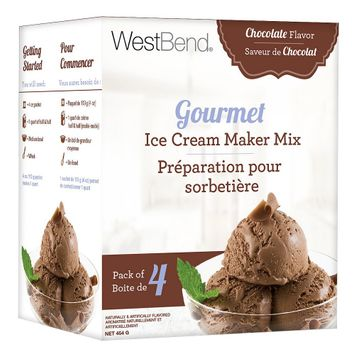 Focus Products Group West Bend Gourmet Ice Cream Maker Mix Chocolate