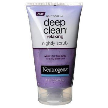 Neutrogena® Deep Clean Relaxing Nightly Scrub