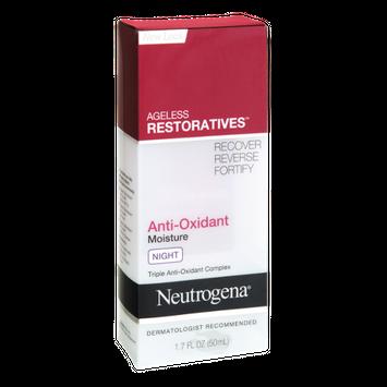 neutrogena® Ageless Restoratives Anti-Oxidant Night Moisturizer