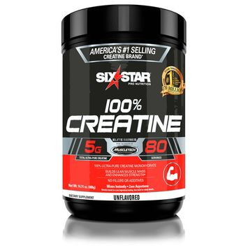 (2 pack) Six Star Pro Nutrition Elite Series Creatine Powder, 80 Servings [name: multipack_quantity value: multipack_quantity-2]