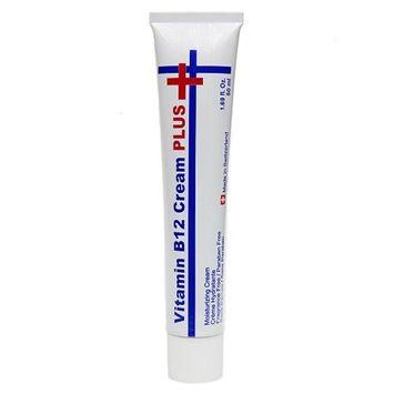 Swissbel Vitamin B12 Cream+ Moisturizing Cream 50ml, 1.69oz