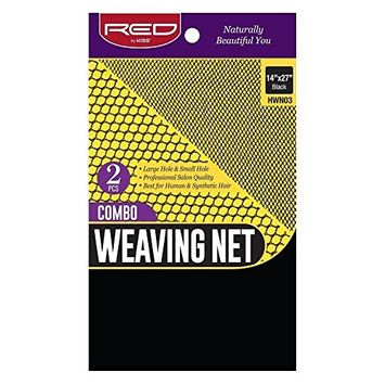 Red by Kiss Combo Weaving Net Large & Small Hole 2 pcs 14