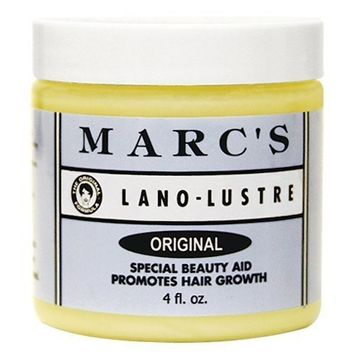 Marc's Lano-Lustre Original, Special Beauty Aid Promotes Hair Growth 4oz by Marc's