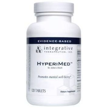 Integrative Therapeutics - HyperiMed - St. John's Wort Supplement with Hypericins - 120 Tablets [Standard Packaging]