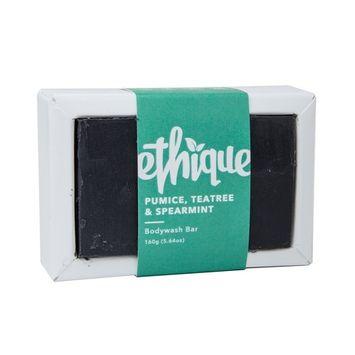 Ethique Eco-Friendly Body Wash Bar, Pumice, Spearmint & Teatree 5.64 oz [Spearmint & Teatree]