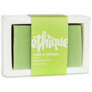 Ethique Eco-Friendly Body Wash Bar, Lime & Ginger 5.64 oz