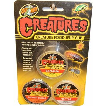 ZOOMED CREATURE FOOD JELLY CUP