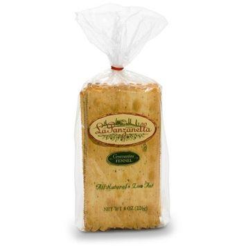 La Panzanella Fennel Croccantini, 8-Ounce Bags (Pack of 6)