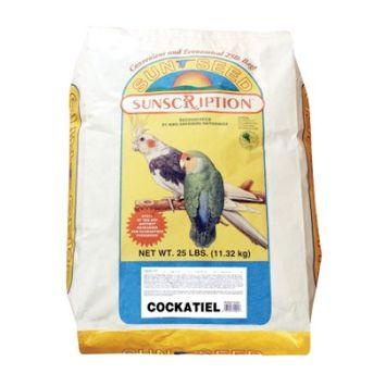 Sunseed Sun Seed Cockatiel Mix Bird Food 25lb