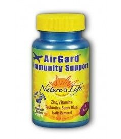 Airgard Immunity Support Nature's Life 30 Chewable