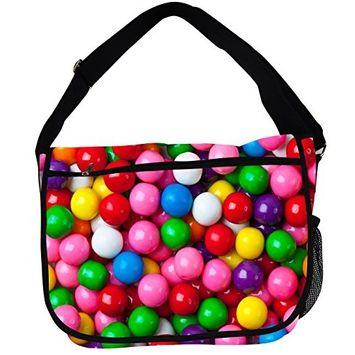 Candy Messenger Bag (Gumball)