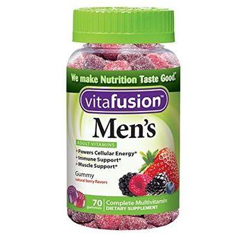 3 Pack - Vitafusion Men's Daily Multivitamin Gummy 70 Each