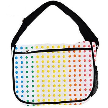 Candy Messenger Bag (Dots)