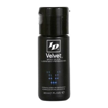 ID Velvet Silicone Personal Lubricant 30 ml Bottle, 1-Ounce