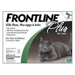 Topdawg Pet Supply Frontline Cat Plus -all Sizes 3pk