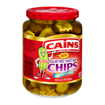 Cains Sugar Free Sweet B&B Pickle Chips