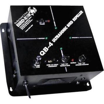 Bird-X Quadblaster QB4 Ultrasonic Bird Device, 110 Volt