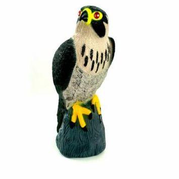 Bird-X Original Falcon Decoy 2-PACK With Reflective Eyes Owl Decoy Bird Repellent Scare Pigeons