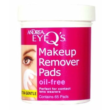 Andrea Eye Q's 65's Oil Free White by Andrea