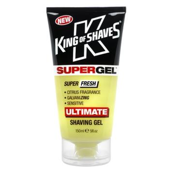 King of Shaves SUPERGEL Super Fresh Ultimate Shaving Gel Sensitive