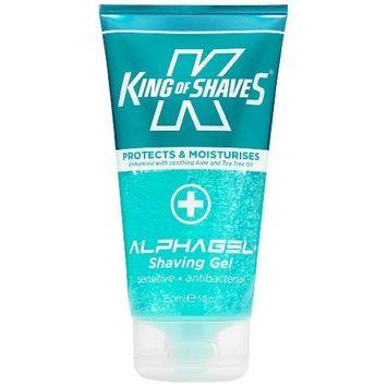King of Shaves Alphagel Anti Bacterial Shave Gel 5 Oz