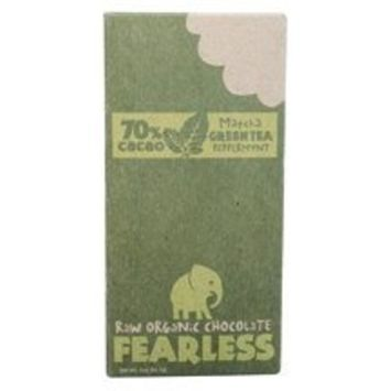Fearless Chocolate Matchapeppermint Candy Bar 2 oz. (Pack of 11)