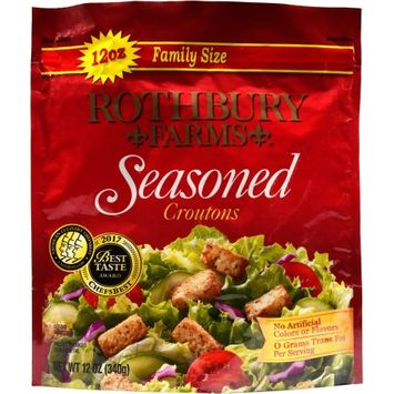 Rothbury Farms Seasoned Croutons (12.0 oz Family Size Package)
