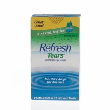 Refresh Tears Lubricant Eye Drops 1 Count