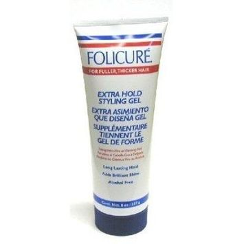 Folicure Gel Extra Hold 8 oz. Tube (3-Pack) with Free Nail File