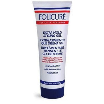Folicure Extra Hold Styling Gel 8.0 oz