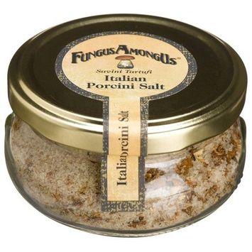 FungusAmongUs Porcini Salt, 3.5-Ounce Jar