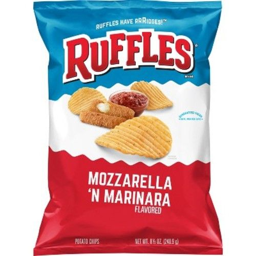 Ruffles Mozzarella 'N Marinara Flavored Potato Chips