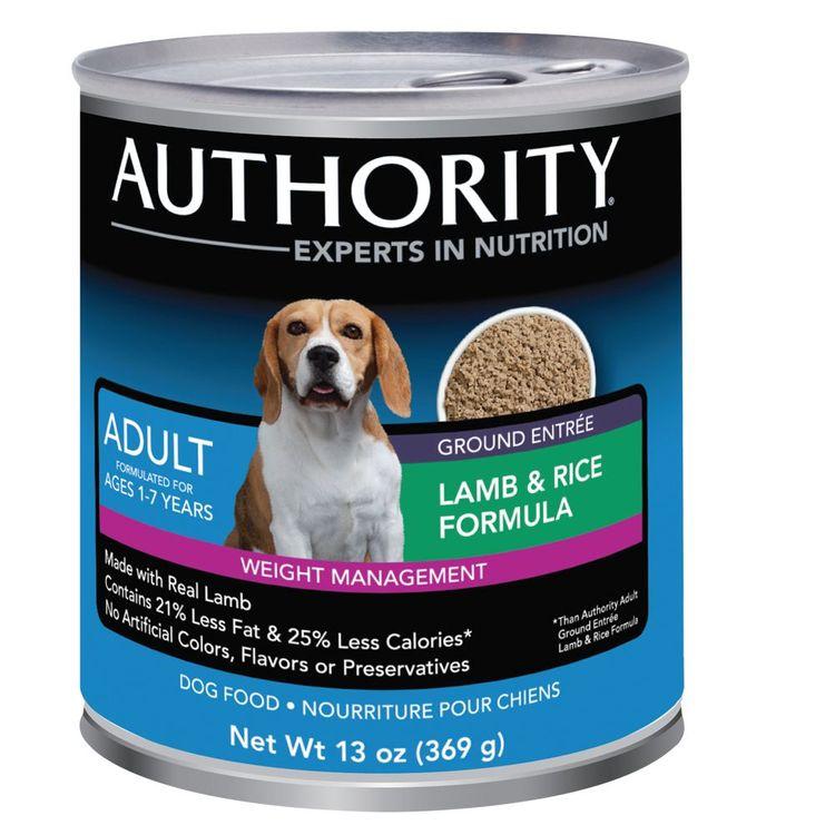 Authority® Weight Management Adult Dog Food size: 13 Oz