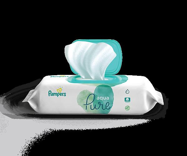 Pampers® Aqua Pure Wipes