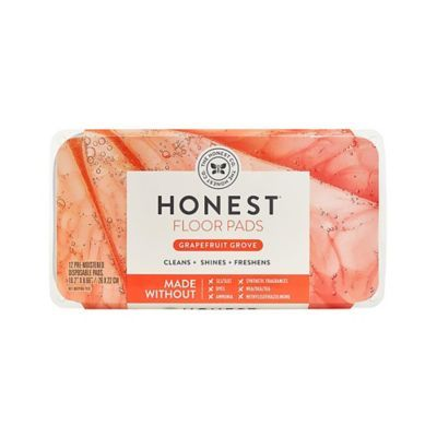 The Honest Company® 12-Count Honest Free & Mopping Pads in Grapefruit Grove