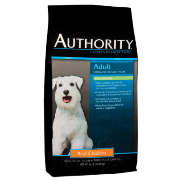 AuthorityA Mini Chunk Adult Dog Food
