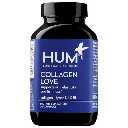 Hum Nutrition Collagen Love Supplements 90 capsules