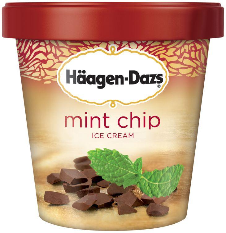 Haagen-Dazs Mint Chip Ice Cream