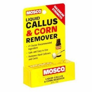 3 Pack Mosco Callus And Corn Remover Liquid .3 oz Maximum Strength