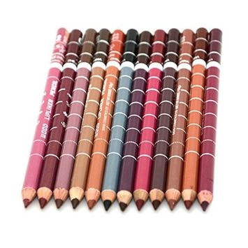 Lip Liners, Alonea Permanent Makeup Tattoo Lip Liner Pencil Lipstick Long Lasting 12pc
