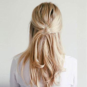 Kanzd Fashion Women geometric Barrette Hairpin Hair Clip Headband (G