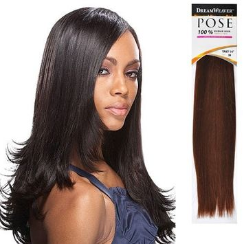 Human Hair Weave ModelModel Pose ZY010 Yaky [10