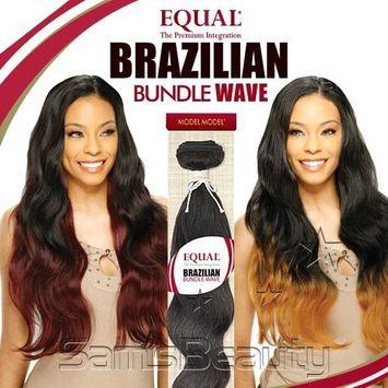 ModelModel Equal Synthetic Hair Weave Brazilian Bundle Wave [16