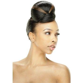 TOP KIKI (1B Off Black) - Model Model Glance Top Star Series BUN Synthetic Hair Dome