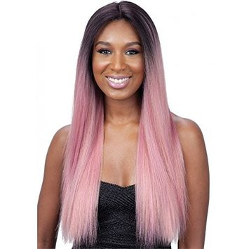 ModelModel Synthetic Hair Lace Front Wig Premium Seven Star Sylvie (1B)