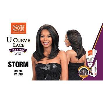 Model Model U-Curve Lace Front Wig STORM #1B
