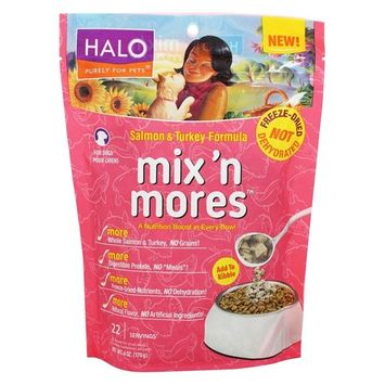 Mix 'N Mores For Dogs Salmon and Turkey Formula - 6 oz.